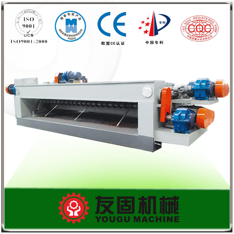 8 Feet Spindle Less Rotary Veneer Peeling Machine